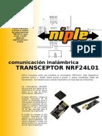 Tutorial sencillo del modulo NRF24L01