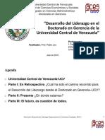 Ppt Liderazgo Ucv Daysi Rosa Carmen 25-7-2019
