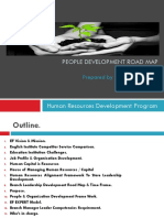 People Development Road Map