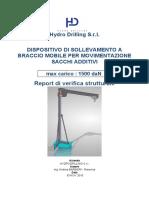 Hydrodrilling - Report Gru a Bandiera