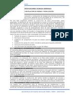 Especificaciones Tecnicas Generales- Reconstruccion Puente Tarapo