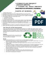 Manejo de Residuos Solidos - Como Mejoramos El Entorno Natural