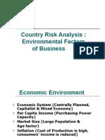 Environmental Factors of International Business