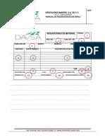 Requisiciones de Material (Manual)
