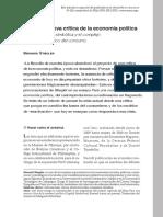 Filosofía Economía Stiegler Nueva Crítica Econo Política 2016