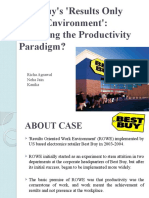 Best Buy's 'Results Only Work Environment' Case