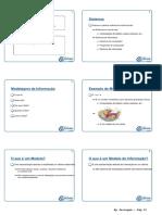 Modelagem de Informação - Todas as Aulas - 6 Pág Por Folha - Bom Para Imprimir