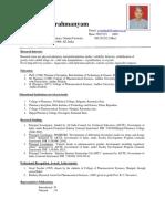 Dr CVS Subrahmanyam Faculty profile 2019.pdf