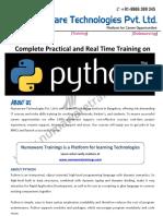 7.0-Python Trainings