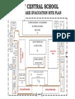 Earthquake Drill Site Plan