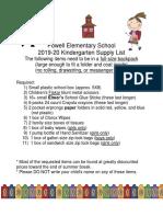 Knox Co Powell - Kindergarten