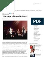 The Rape of Pepsi Paloma