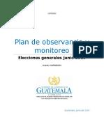 13-06-19 Plan Observancia y Monitoreo Durante Evento Electoral Corr