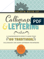 The Complete Book of Calligraphy & Lettering_ a Comprehensive Guide to More Than 100 Traditional Calligraphy and Hand-Lettering Techniques ( PDFDrive.com )