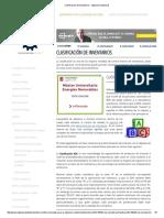 Clasificación de Inventarios - Ingeniería PETROKIMIKA SIXTO