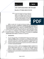 RESOLUCION N°643-2019-TCE-S1 (APLICACION SANCION)