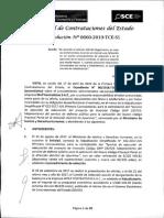 RESOLUCION N°660-2019-TCE-S1 (APLICACION SANCION)
