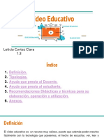 Vídeo Educativo