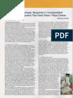 Tecnologia Bioquimica y Funcionalidad Queso Pasta Filata