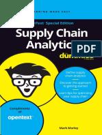 Supply Chain Analytics for Dummies