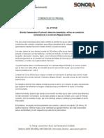 25-07-2019 Brinda Gobernadora Pavlovich atención inmediata a niños en condición vulnerable de la comisaría Miguel Alemán