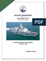 Gsl Intership Report