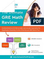 The Ultimate GRE Math Review