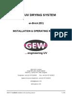Manual de isntalacion UV GEW