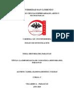 Ensayo Historia Del Paraguay