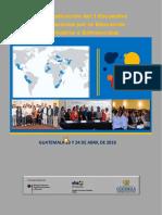 Sistematización del I Encuentro Internacional por la Educación Alternativa o Extraescolar
