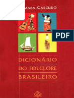 Luís Da Câmara Cascudo - Dicionário Do Folclore Brasileiro