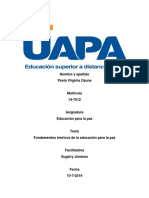Educacion Para La Paz 1 t