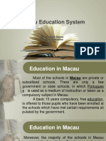 Macau Education System