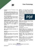 Chemguard Foam Terminology