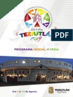 Feria Teziutlán 2019 Programación completa