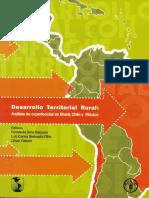 Desarrollo Territorial Rural Análisis de Experiencias en Brasil Chile y México