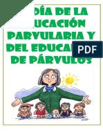 El Día de La Educación Parvularia y Del Educador De