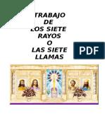TRABAJO DE LOS SIETE RAYOS O SIETE LLAMAS.doc