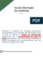 AULA 7 (Sistema de Informação de Marketing)