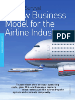 Business Model for Airline Industry Hub and Spokes Booz Allen