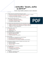 Guia de Estudio Juan, Julia y Jericó
