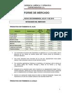 Informe de Mercado Julio 11 de 2019