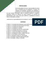 Projeto - subtemas