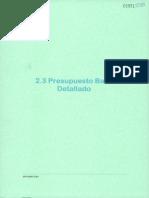 2-3 Presupuesto Base Detallado