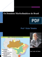 Os Domínio Morfoclimaticos Do Brasil