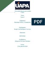 Trimestre 3 Psicologia Social y Comunitaria.