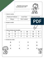 Diagnostio Tercero Preescolar 2018