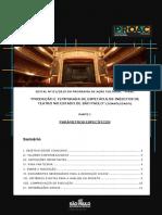 Edital 01 Parâmetros Específicos PRORROGADO