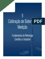 Calibração de Sistema de Medição
