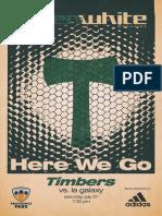 Portland Timbers vs. LA Galaxy | Green & White Magazine | July 27, 2019